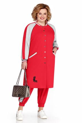 Спортивный костюм Pretty 1043 красный