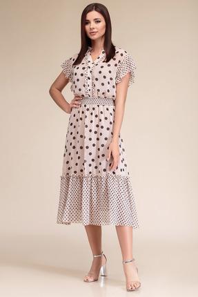Платье Gizart 7325б бежевый
