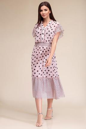 Платье Gizart 7325п пудра