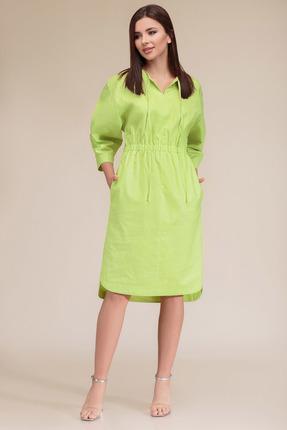 женское повседневные платье gizart, салатовое