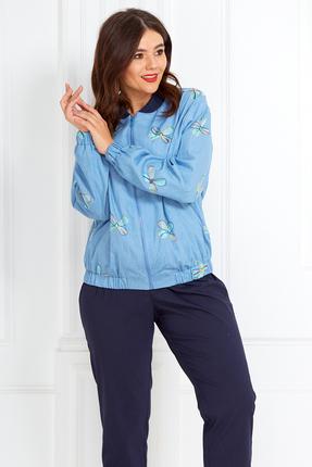 Комплект брючный Anastasia Mak 596 синий
