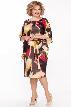 женское вечерние платье lakona, разноцветное