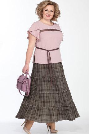 Комплект юбочный Lady Secret 1602 розовый с серым