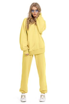 Спортивный костюм PIRS 1270 желтый