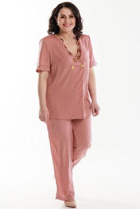 Комплект брючный Belinga 2058 розовые тона