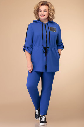 Спортивный костюм Svetlana Style 1391 василек