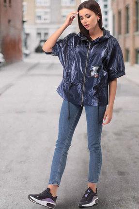 Куртка ТАиЕР 870 синий перламутр