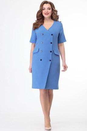 Платье Anelli 333 голубой