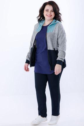 Спортивный костюм Belinga 2036 синий с серым