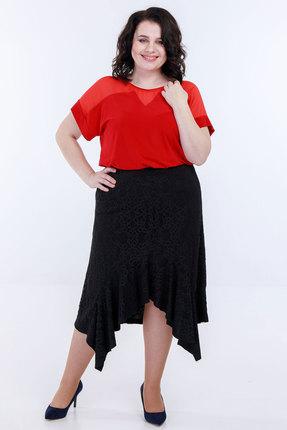 Комплект юбочный Belinga 3013 красный с чёрным