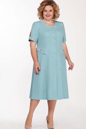 Платье Теллура-Л 1397 голубой