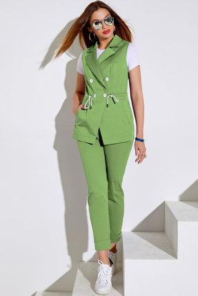 Комплект брючный Lissana 4046 зеленый