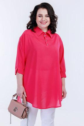 женская блузка belinga, малиновая