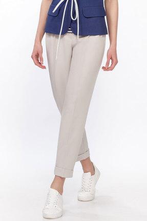женские брюки lakona, бежевые