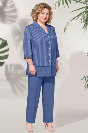женский брючный костюм багираанта, синий