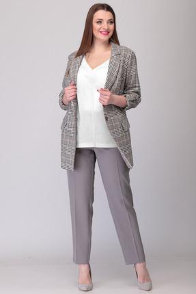 Комплект брючный Verita Moda 2056 серый