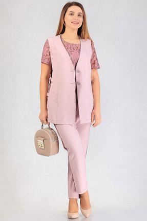 Комплект брючный Белтрикотаж 6629 розовый БЕЛТРИКОТАЖ