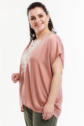 женский жилет belinga, розовый