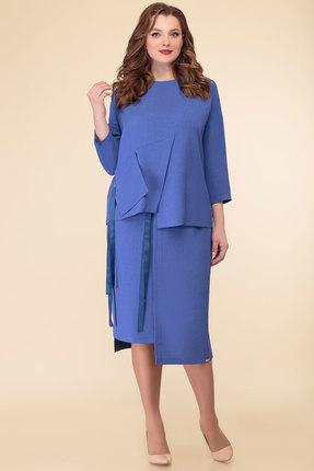 Комплект юбочный Дали 5451 синий