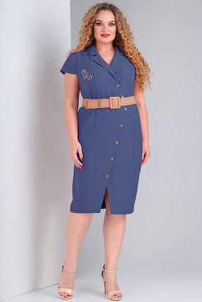 Платье Тэнси 288 синий