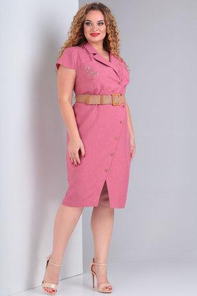 Платье Тэнси 288 розовый