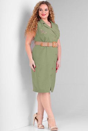 Платье Тэнси 288 зеленый
