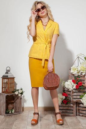Комплект юбочный DilanaVIP 1528 желтый