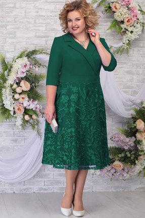 Платье Ninele 2259 изумруд