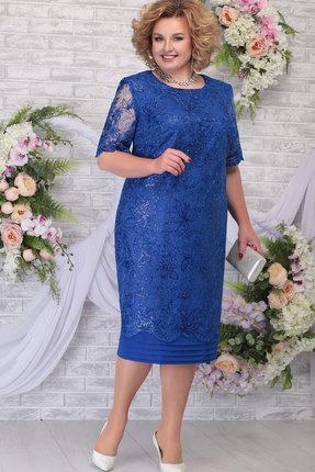 Платье Ninele 5788 василёк
