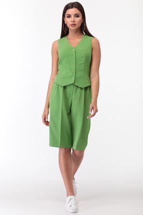 Комплект с шортами Anastasia Mak 728 зеленый