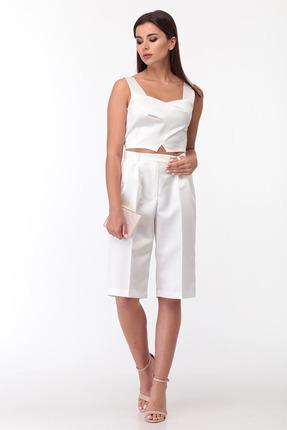 Комплект с шортами Anastasia Mak 720 молочный