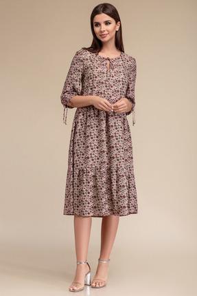 Платье Gizart 5069цв-2 розовые тона