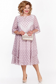 Платье Pretty 1130 розовые тона