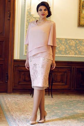 Комплект юбочный Мода-Юрс 2577 розовые тона