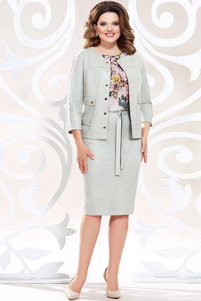 Комплект юбочный Mira Fashion 4783-4 светло-серые тона