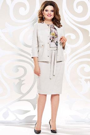 Комплект юбочный Mira Fashion 4783-5 светло-молочные тона