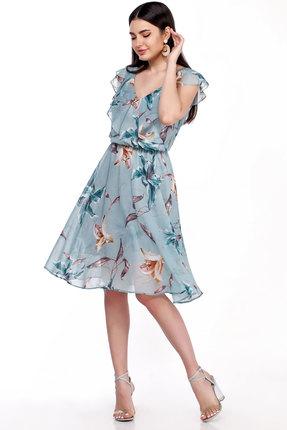 женское вечерние платье lakona, голубое