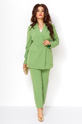 Комплект брючный Anastasia Mak 603 зеленый