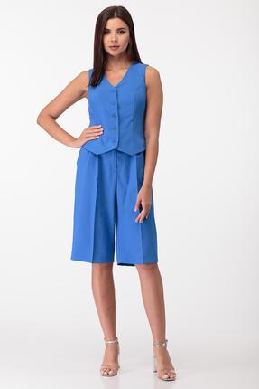 Комплект с шортами Anastasia Mak 728 синий
