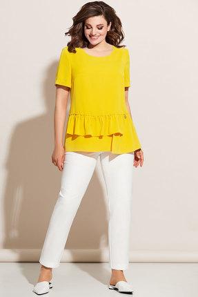 Комплект брючный Olga Style с672 желтый