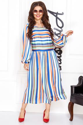 Платье Anastasia 446 мультиколор