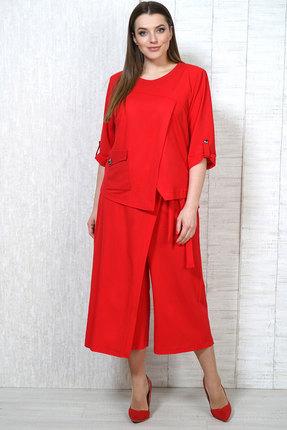 Комплект брючный Белтрикотаж 6683 красный БЕЛТРИКОТАЖ