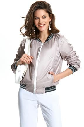 Куртка TEZA 1345 серые тона