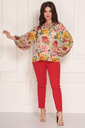 Комплект Solomeya Lux 597 разноцвет с красным