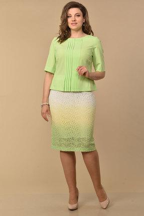 Комплект юбочный Lady Style Classic 2149 лаймовый