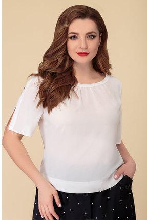 женская блузка дали, молочная