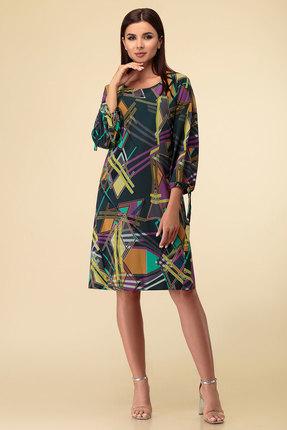женское повседневные платье дали, разноцветное