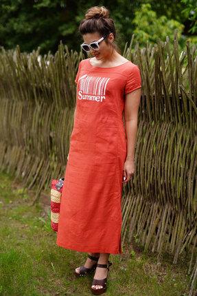 Платье ЛЮШе 2398 коралловый