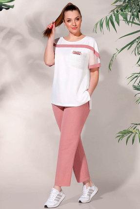 Комплект брючный БагираАнТа 625-1 розовый