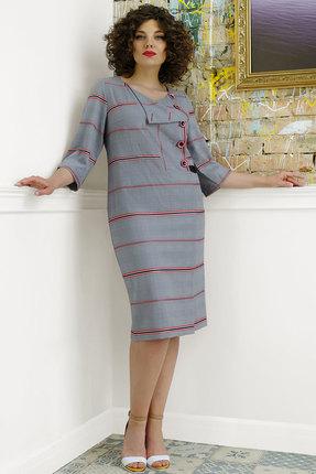 Платье Avanti Erika 989-1 серые тона
